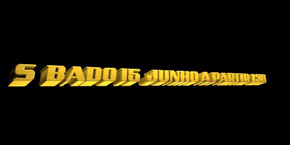 3D Logo Maker - Free Image Editor - SÁBADO 15  JUNHO A PARTIR  13H