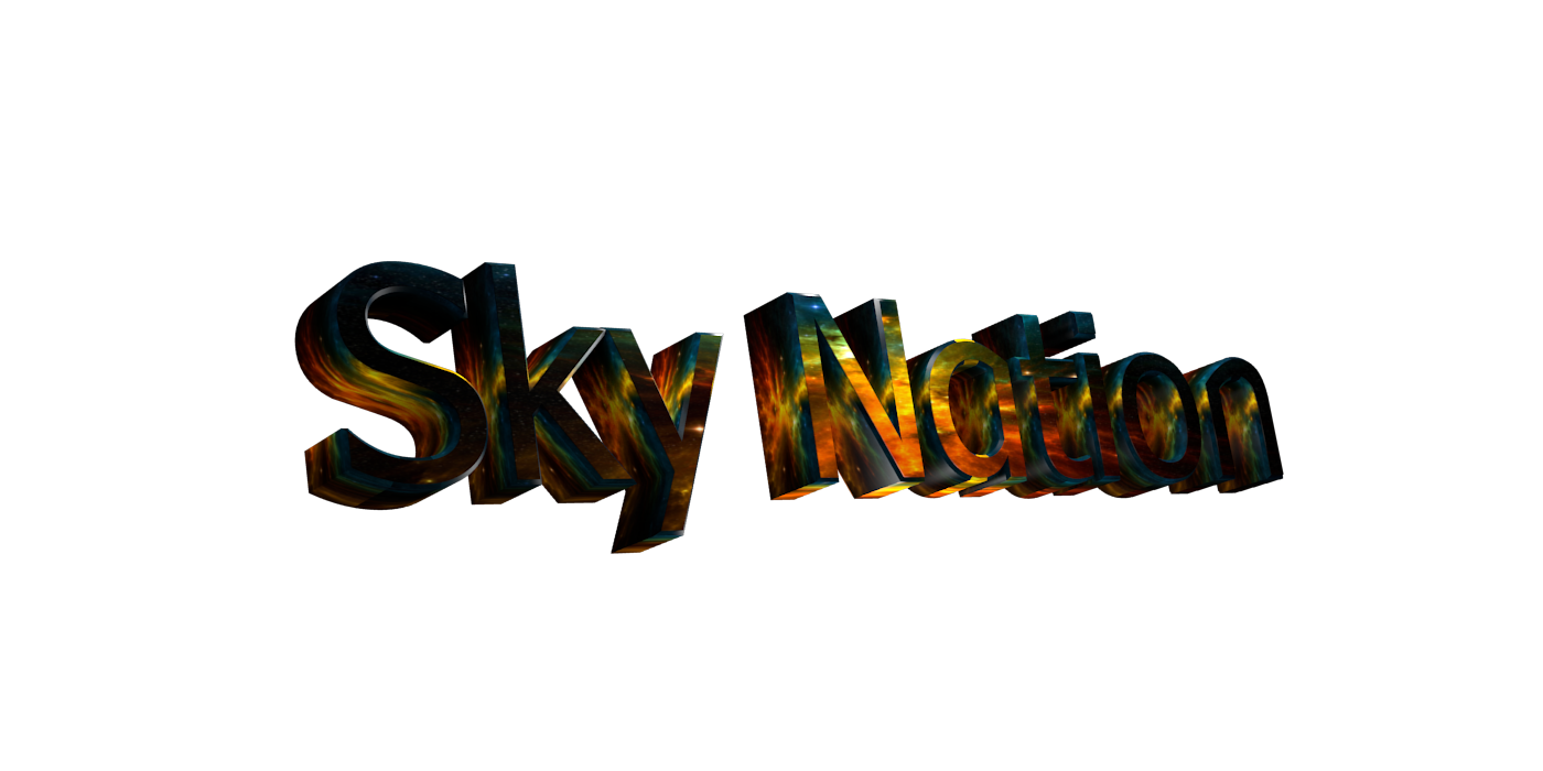 Create 3D Text - Free Image Editor Online - Sky Nation