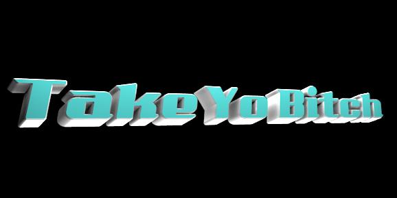 Make 3D Text Logo - Free Image Editor Online - Take Yo Bitch