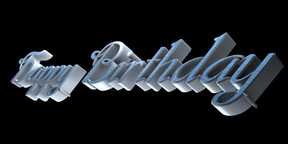 Make 3D Text Logo - Free Image Editor Online - Happy ...