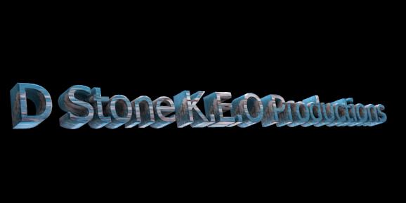 3D Text Maker - Free Online Graphic Design - D Stone K.E.O Productions