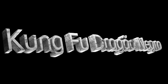 3D Logo Maker - Free Image Editor - Kung Fu Dragão Negro