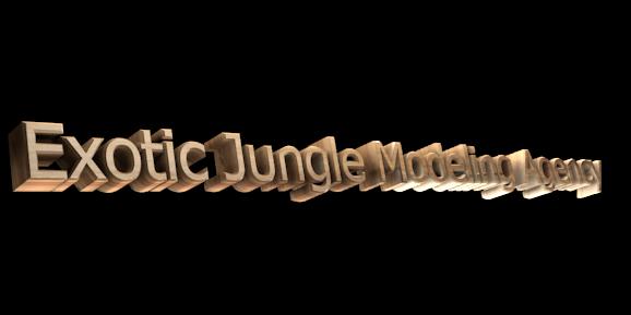 3D Logo Maker - Free Image Editor - Exotic Jungle Modeling Agency