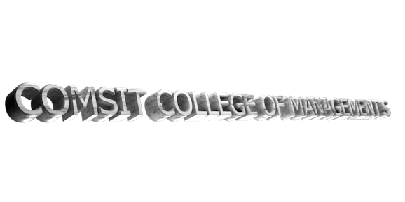 Make 3D Text Logo - Free Image Editor Online - COMSIT COLLEGE OF MANAGEMENT S