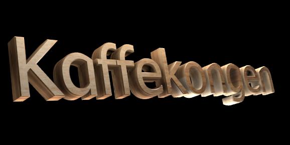 Make 3D Text Logo - Free Image Editor Online - Kaffekongen