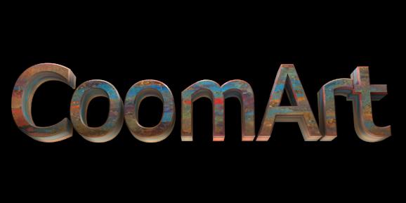 Make 3D Text Logo - Free Image Editor Online - CoomArt