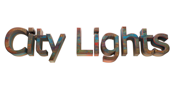 Create 3d text free image editor online city lights for 3d editor online