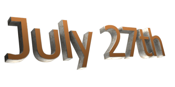 Make 3D Text Logo - Free Image Editor Online - July 27th