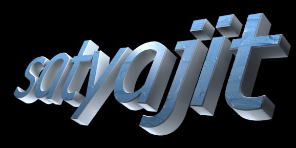 Make 3D Text Logo - Free Image Editor Online - satyajit