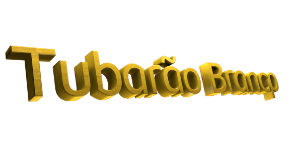 Create 3D Text - Free Image Editor Online - Tubarão Brancp