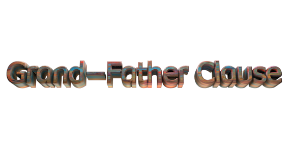 3D Text Maker - Free Online Graphic Design - Grand-Father Clause