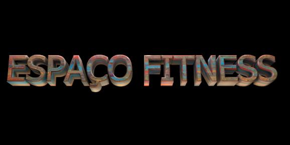 Make 3D Text Logo - Free Image Editor Online - ESPAÇO FITNESS