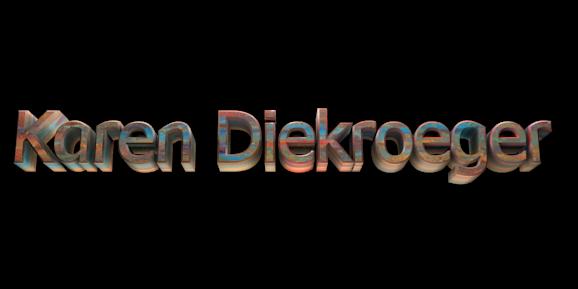 Create 3D Text - Free Image Editor Online - Karen Diekroeger