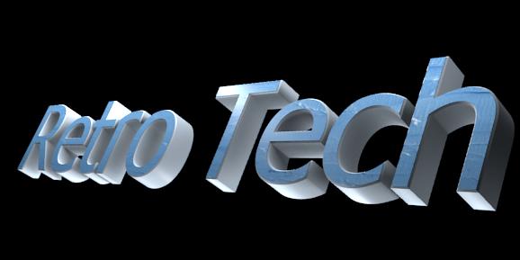 Create 3D Text - Free Image Editor Online - Retro Tech