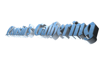 Create 3D Text - Free Image Editor Online - Cousin's Gathering