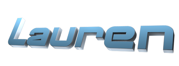 Make 3D Text Logo - Free Image Editor Online - Lauren