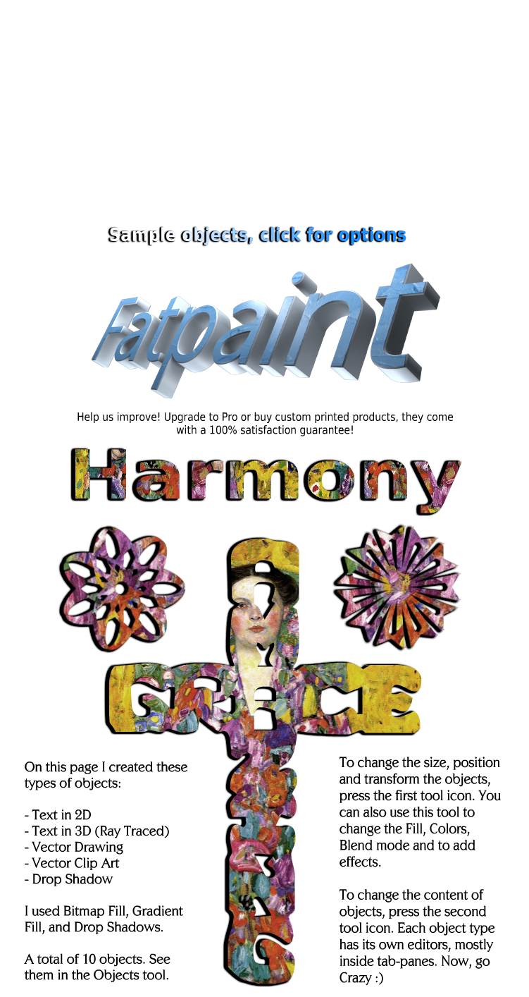 Free Graphic Design Software - Image Editor - Fatpaint Community