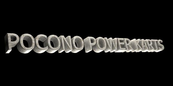 3D Text Maker - Free Online Graphic Design - POCONO POWER KARTS