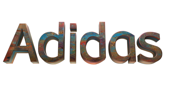 Create 3D Text - Free Image Editor Online - Adidas