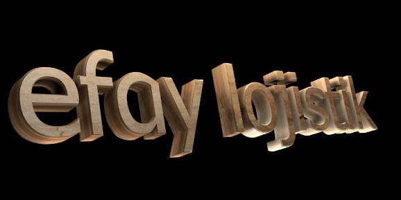 3D Text Maker - Free Online Graphic Design - efay lojistik