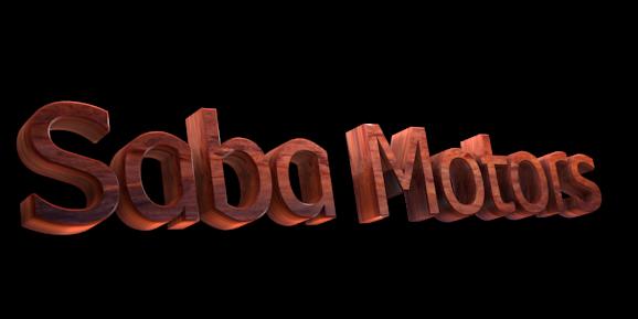 Make 3D Text Logo - Free Image Editor Online - Saba Motors