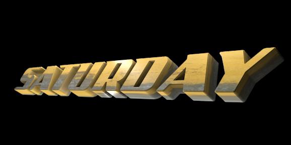 3D Logo Maker - Free Image Editor - SATURDAY