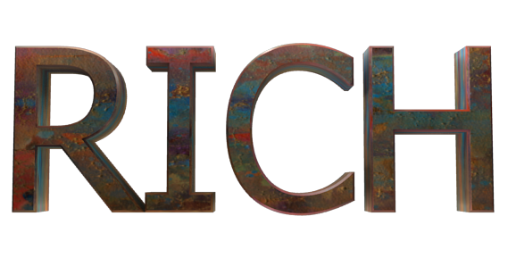 3D Text Maker - Free Online Graphic Design - RICH