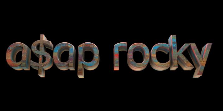 3D Text Maker - Free Online Graphic Design - a$ap rocky