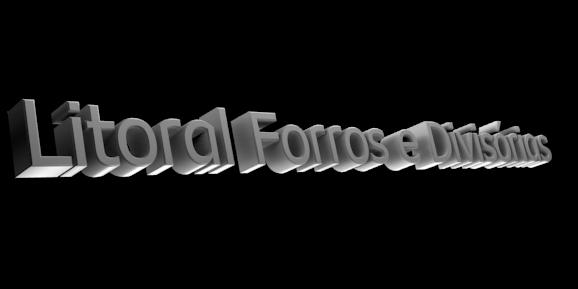 Create 3D Text - Free Image Editor Online - Litoral Forros e Divisórias