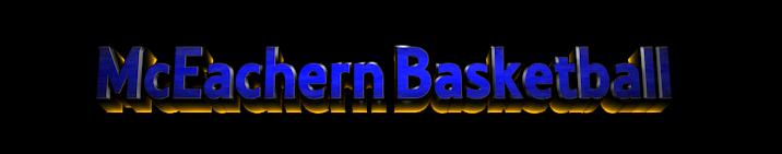Make 3D Text Logo - Free Image Editor Online - McEachern Basketball