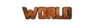 Create 3D Text - Free Image Editor Online - WORLD