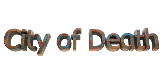 Create 3D Text - Free Image Editor Online - City of Death