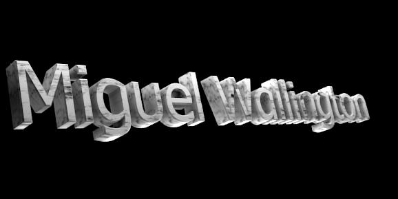 3D Text Maker - Free Online Graphic Design - Miguel Wallington