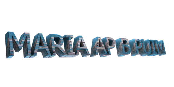 Create 3D Text - Free Image Editor Online - MARIA AP B PUIM