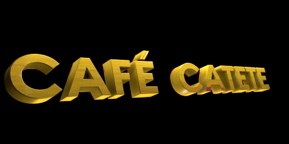 3D Logo Maker - Free Image Editor - CAFÉ  CATETE