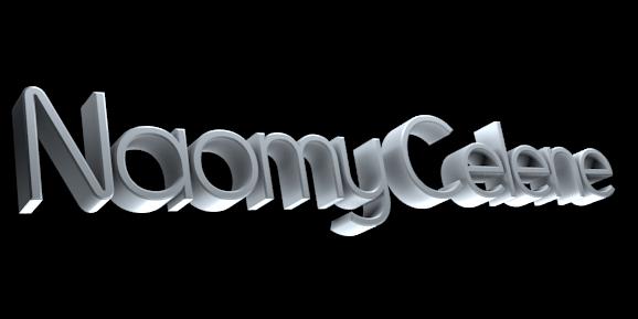 Create 3D Text - Free Image Editor Online - Naomy Celene