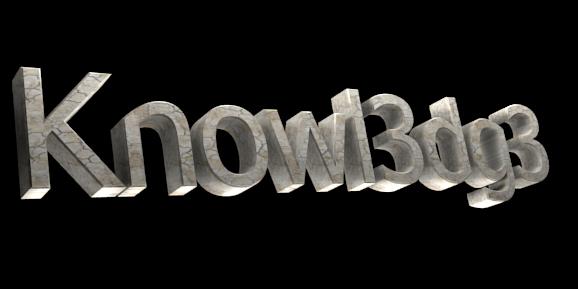 3D Text Maker - Free Online Graphic Design - Knowl3dg3